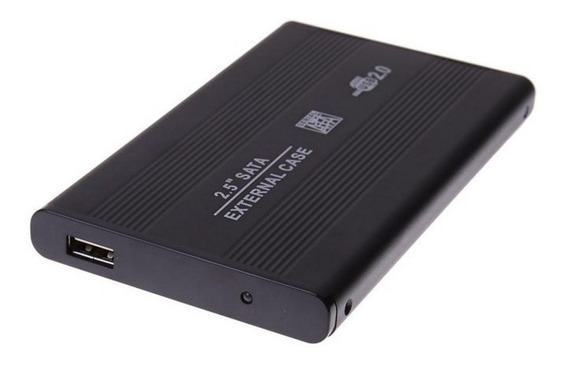 Case Enclosure Disco Duro Externo Laptop 2.5 Sata Usb 2.0