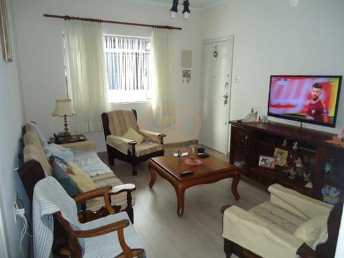 Apartamento  Com 2 Dormitório(s) Localizado(a) No Bairro Macuco Em Santos / Santos  - 5855