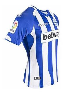 Camisa Alaves 2018/19 Home (tam M) Pronta Entrega