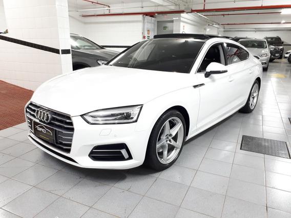 Audi A5 Ambiente 2.0 Turbo 2018 Branca Teto Solar Muito Nova