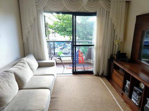 Apartamento Com 3 Dormitórios À Venda, 115 M² Por R$ 395.000,00 - São Manoel - Americana/sp - Ap0998
