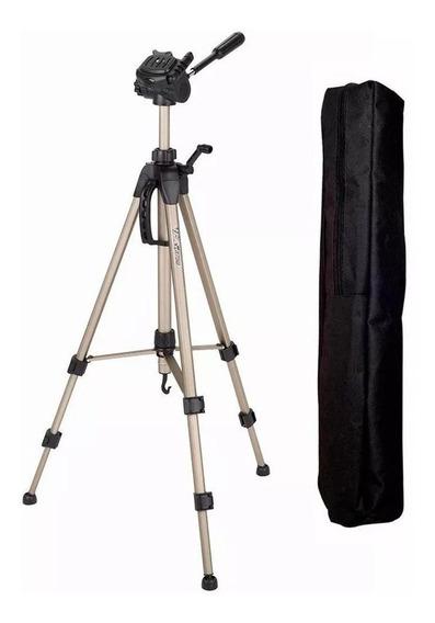 Tripé Wf 3730 Greika Para Câmeras Canon, Nikon, Sony Etc