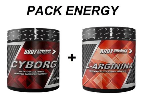 Imagen 1 de 6 de Energy Pack. Pre Work. Energía. Rendimiento. Arginina Cyborg