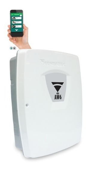 Central Alarme Aw6 C/ Wifi E Aplicativo - Compatec