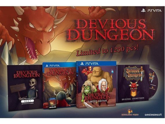 Devious Dungeon [limited Edition] Psvita