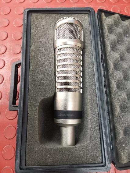 Microfone C/ Fio Re27nd P/ Estúdio Electrovoice Perfeito!
