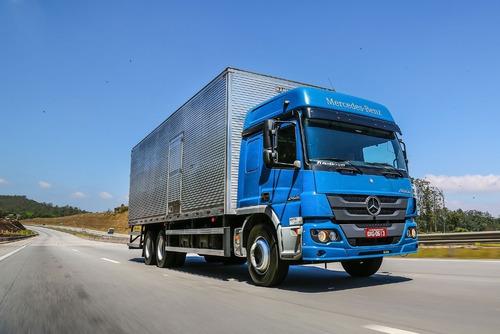 Camion Mercedes Benz Atego 2426 Cabina Dormitorio 0km Caba
