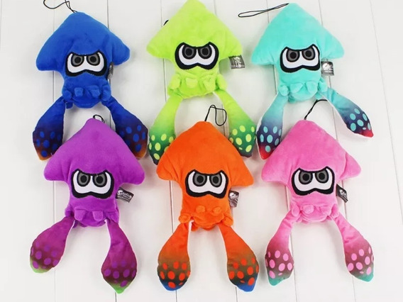 Pelucia Splatoon Squid
