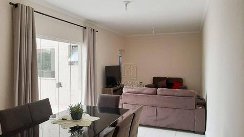 Apartamento Com 3 Dormitórios À Venda, 81 M² Por R$ 360.000,00 - Parque Das Nações - Santo André/sp - Ap0332