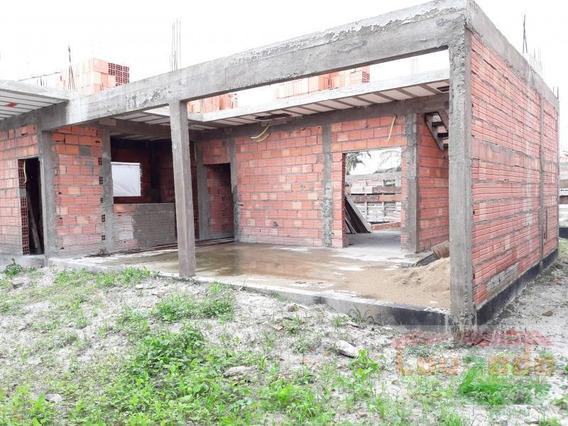 Casa Para Venda Em Peruíbe, Bairro Florida, 1 Dormitório, 1 Banheiro - 1957