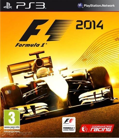 Fórmual 1 F1 2014 - Playstation 3 - Envio Hoje