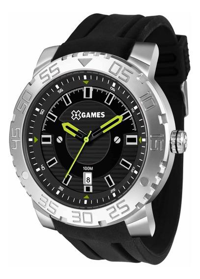 Relógio Xgames Xmsp1010 P2px Preto Masculino Xteel- Refinado