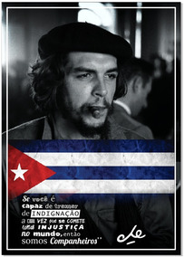Quadro Che Guevara Frases