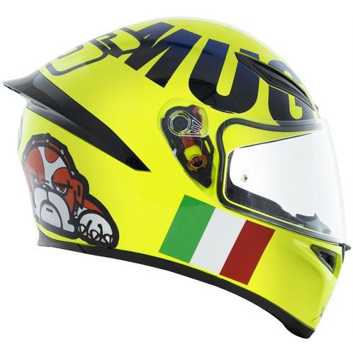 Imagem 1 de 5 de Capacete Agv K1 Mugiallo Amarelo Valentino Rossi