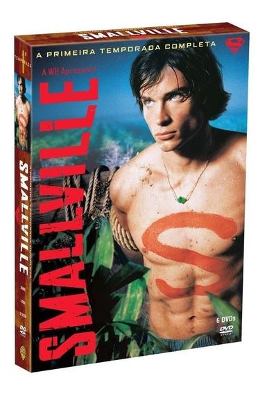Smallville 1ª Temporada - Box Com 6 Dvds - Tom Welling