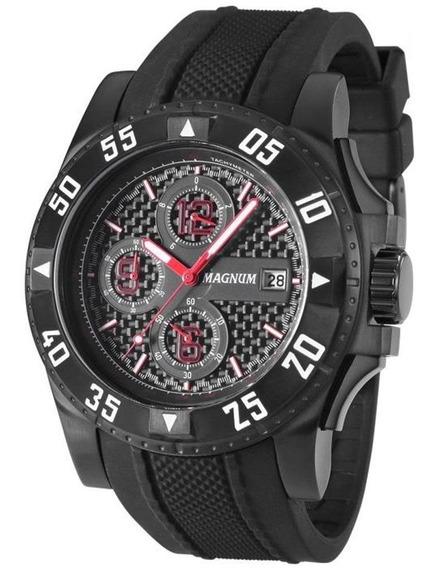 Relógio Masculino Magnum Analógico Ma34361p - Preto
