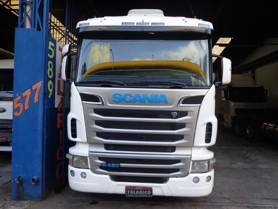 Caminhão Scania R-420 2011/11 Branca Nova