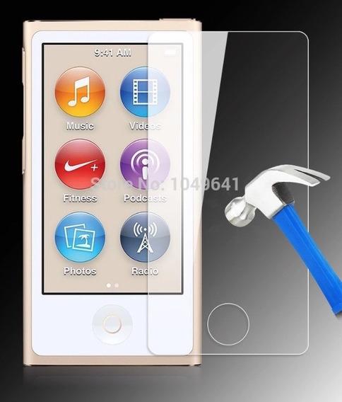 Película De Vidro iPod Nano 7 + Capinha De Silicone