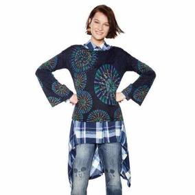 ad18eb3ca19 Sweater Desigual Mujer - Sweaters Mujer en Mercado Libre Chile