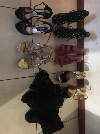Lote De Sandalias Y Botas Sarkany, Zara , Tits