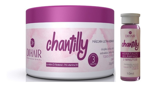 Dihair Ampola Chantilly + Máscara Chantilly