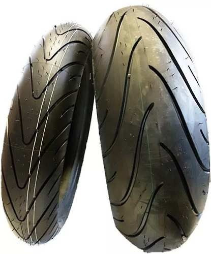 Par Pneu 120/70-17 + 190/50-17 Michelin Pilot Road 2