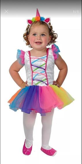 Disfraz Unicornio Bebé Talla 18/24 Meses