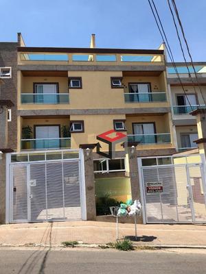 Cobertura Com 3 Dormitórios À Venda, 81 M² Por R$ 680.000 - Paraíso - Santo André/sp - Co51172