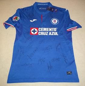 42133aeb0 Jersey Joma Loc Cruz Azul Firmado Equipo Actual 2019 Coa