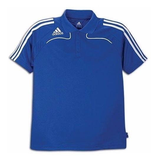 adidas Polo, Hombre, Azul Cobalt Talla S