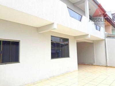 Casa Residencial À Venda, Parque Residencial Jaguari, Americana. - Ca2202