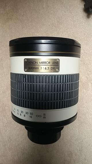 Lente Rokinon Mirror Lens-500 Mm-1:6.3 Dx