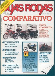 2r.157 Jul88- Honda Cg125 Cbx150 Yama Rd135 Agrale Sxt 27.5