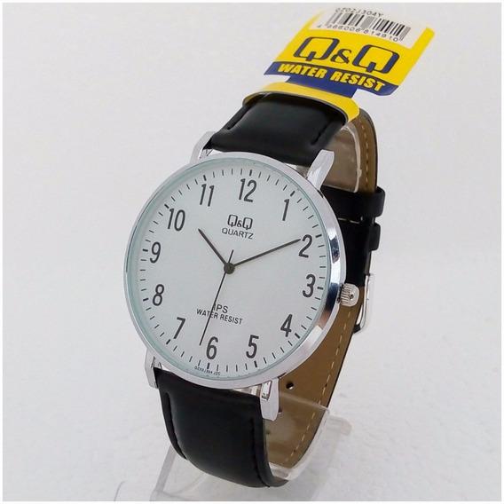 Relógio Masculino Qq 304y Original Slim Luxo Executivo Vip