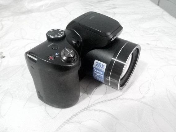 Câmera Semi Profissional Samsung 16.2 Megapix Wb100 Não Liga