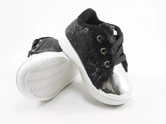 Zapatillas De Niñas Simil Cuero Baratas