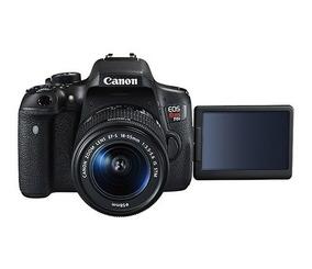 Canon Eos Rebel T6i Kit Com Bateria Extra, Bolsa E Tripé