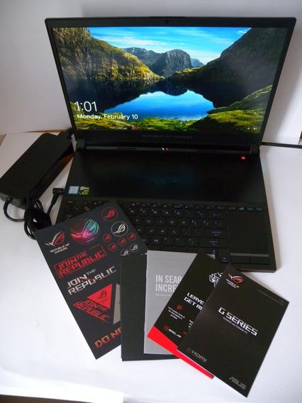 Gamer Asus Zephyrus S I7 8ger. Hexa Core 16gb 512ssd Gtx1060