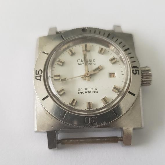 Relógio Antigo Classic Automático Mergulho
