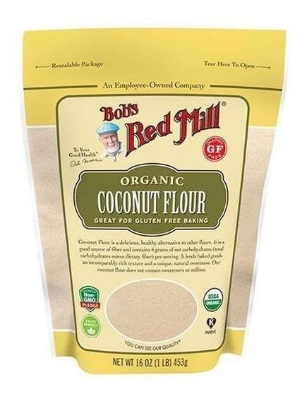 Harina De Coco Organica Bobs Red Mill 453 G