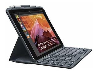 Teclado Bluetooth Integrado Logitech Slim Folio iPad 5ta ...