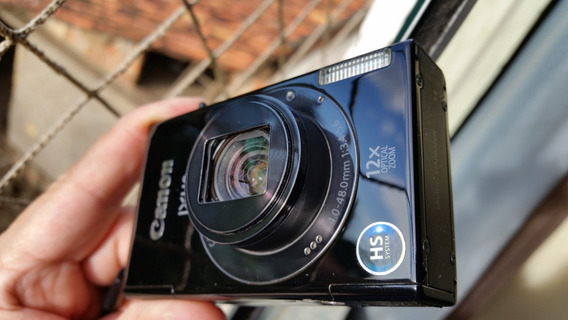 Canon Ixus 510 Hs Minúscula E Poderosa