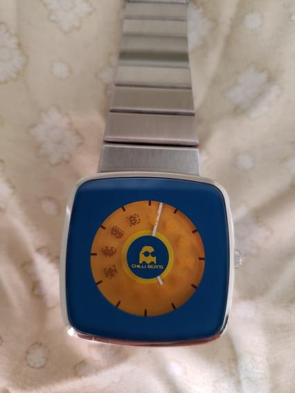 Relógio Chillibeans Space Invaders Coleção Fliperama