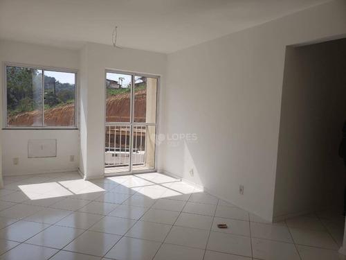 Apartamento Com 2 Quartos, 62 M² Por R$ 218.000 - Santa Bárbara - Niterói/rj - Ap46525