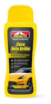 Imagem 1 de 1 de Cera Auto Brilho Para Carro Com Carnaúba - Proauto
