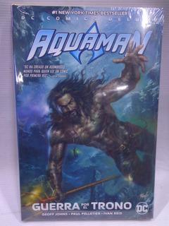 Aquaman Guerra Por El Trono Dc Deluxe Pasta Dura