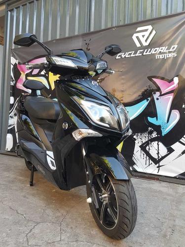 Moto Electrica Sunra Hawk Gel 3000w Llevala Ya Con Casco