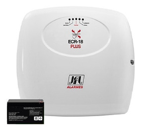 Central De Choque Ecr 18 Plus Jfl Com Bateria 12 Volts 7 Ap