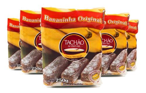 Imagem 1 de 1 de Bananinha Sem Acúcar Tachão De Ubatuba 200g ( 5 Und )