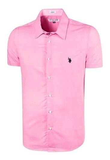 Camisa Us.polo Assn Usbms-43-6164 Rosa Caballero Oi